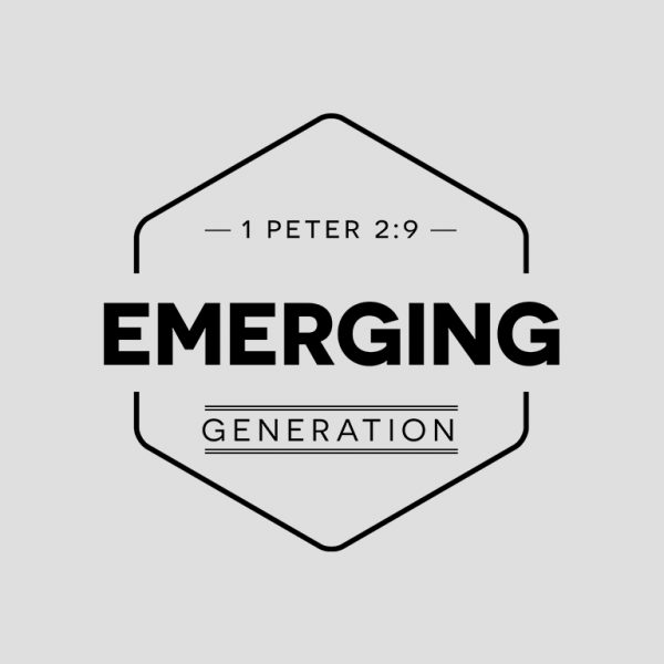 Christian Logo Design for Youth Band Emerging Generation, A Vaughan, Toronto Youth Movement