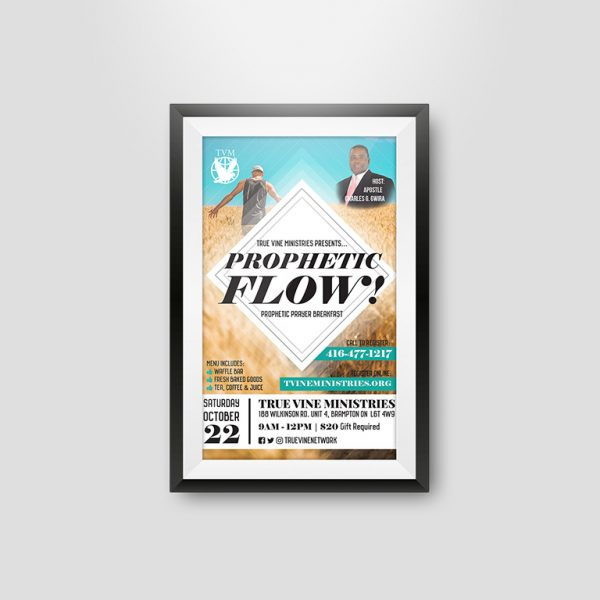 Church Event Flyer Design for Houses of Worship in Toronto, Brampton, Mississauga and Surrounding Areas by NOYA