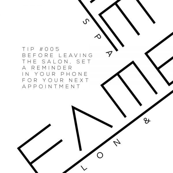 #TantalizingTips: Tip Template for Fame Stouffville, AVEDA Salon based in Stouffville, Ontario