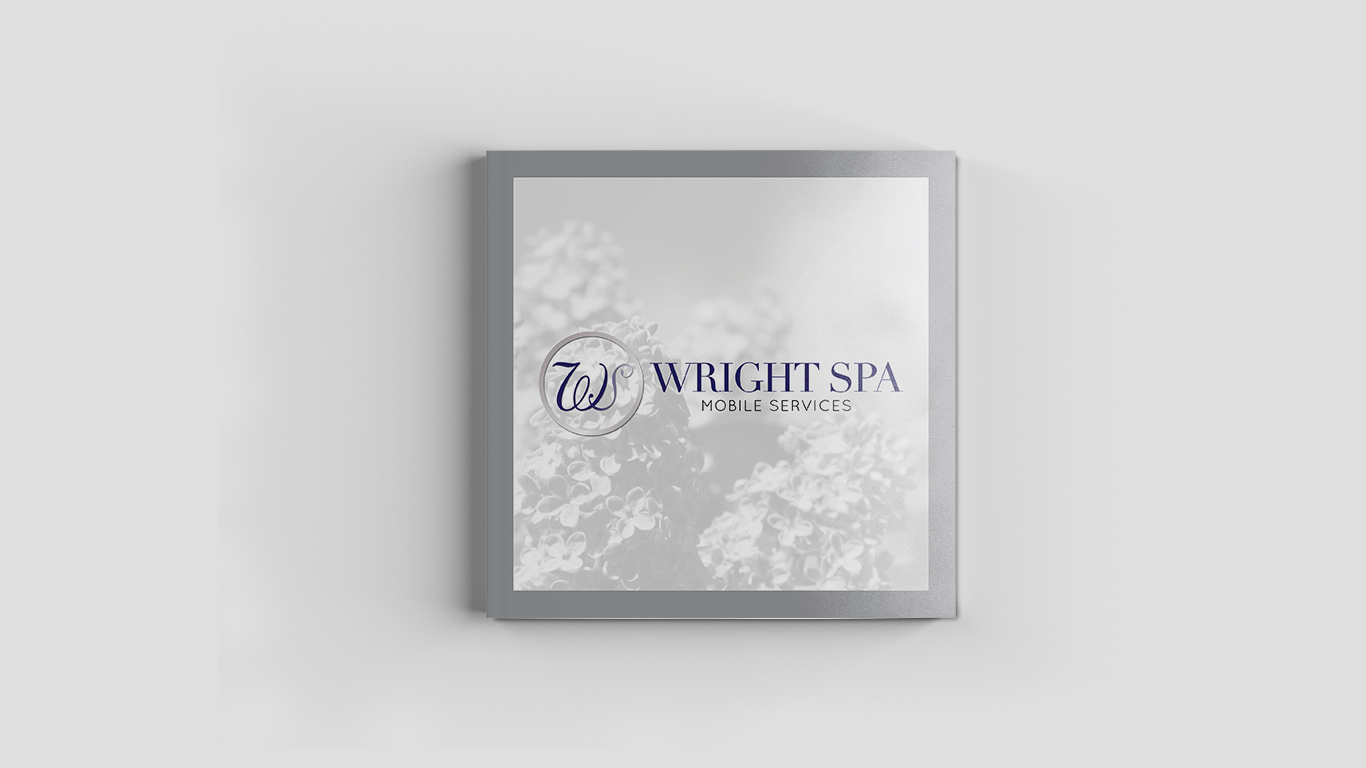 Corporate Media Kit by NOYADESIGNS for the Wright Spa