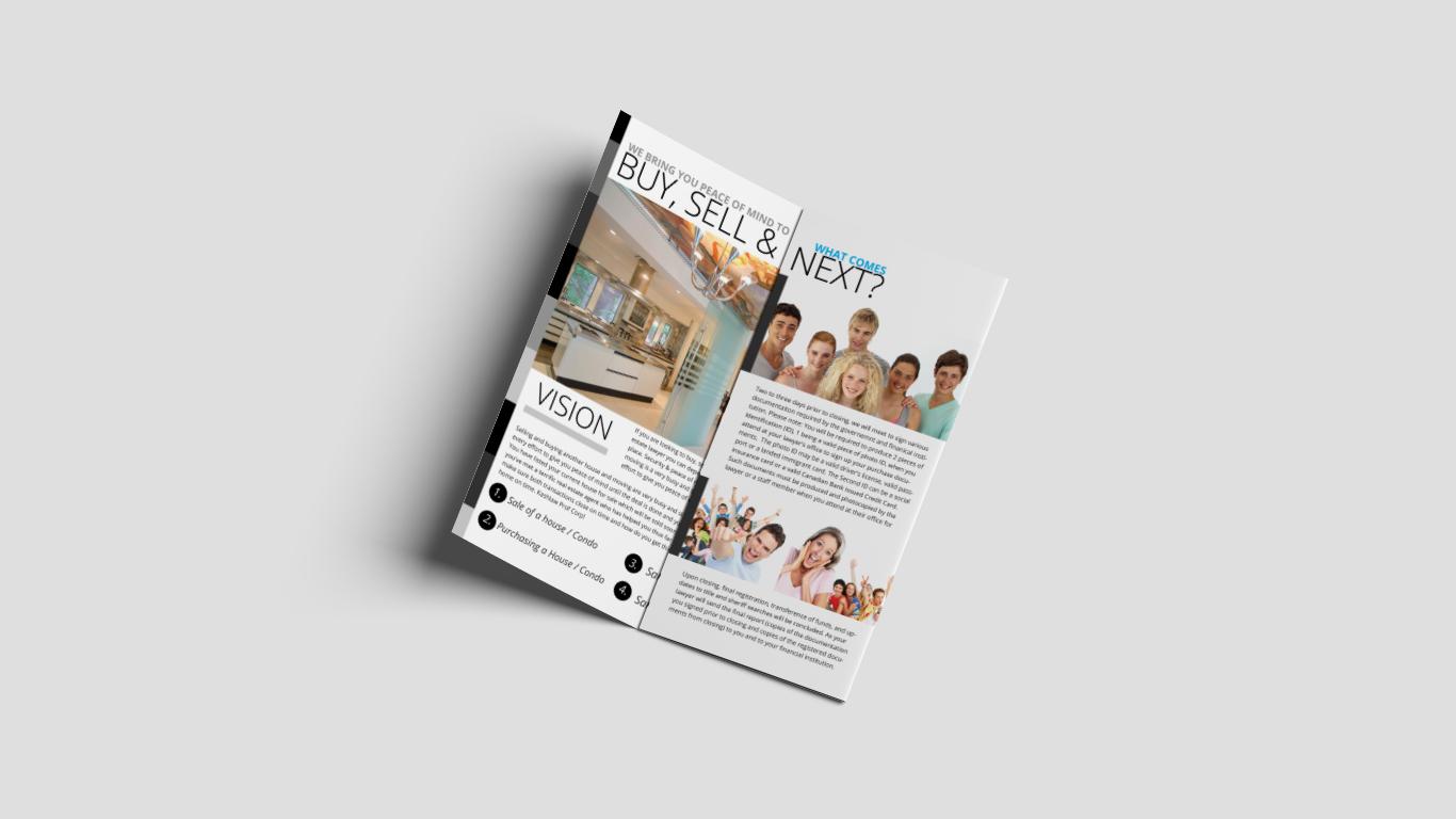 brochure design for law office by noyadesigns