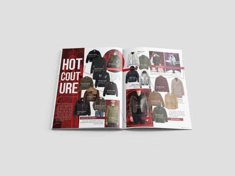 Magazine Design, Print Design & Graphic Design for SHE Canada, a Canadian based Magazine Company