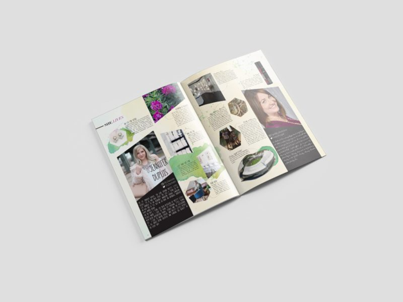 Magazine Design, Print Design & Graphic Design for SHE Canada, a Canadian based Magazine Company
