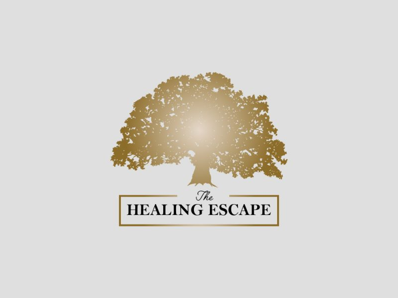 Reiki Logo Design for The Healing Escape, an Oakville Reiki Healing Center