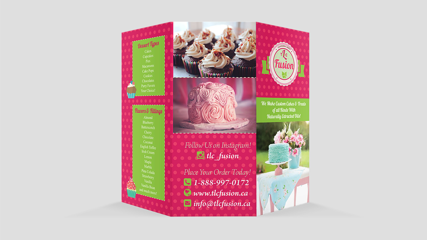 Bakery, Restauraunt & Cafe Logo Design Services for Businesses in Toronto, Mississauga, Oakville, Brampton and Surrounding Areas