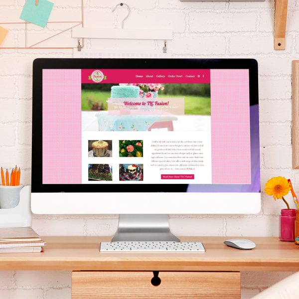 TLC Fusion Edibles & Bakery Website Design Project