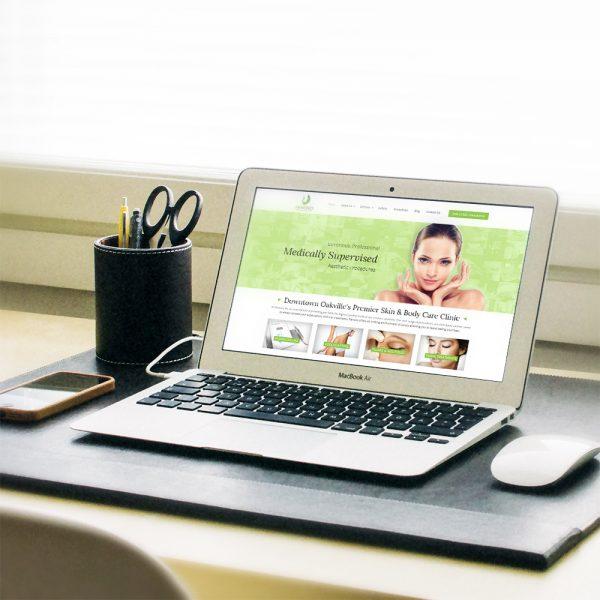 Renovo Medi Spa Website Re-Design