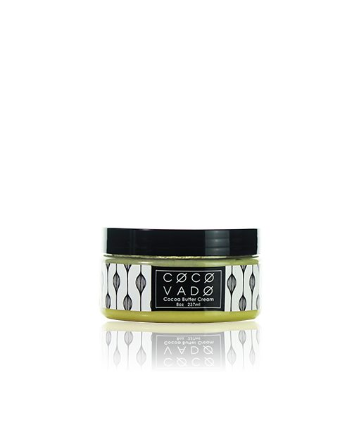 Skincare Product Photography Service for Green Beauty Brand COCOVADO - 8oz Cocoa Butter Cream