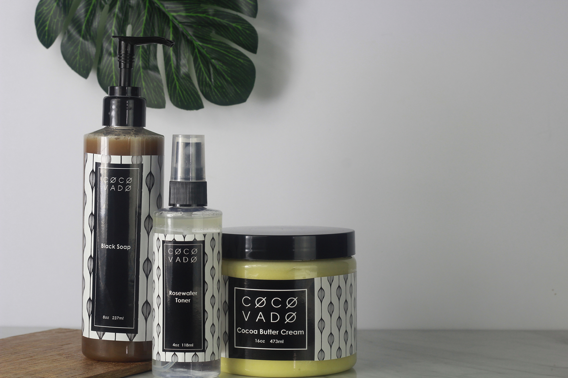 Skincare Product Photography Service for Green Beauty Brand COCOVADO