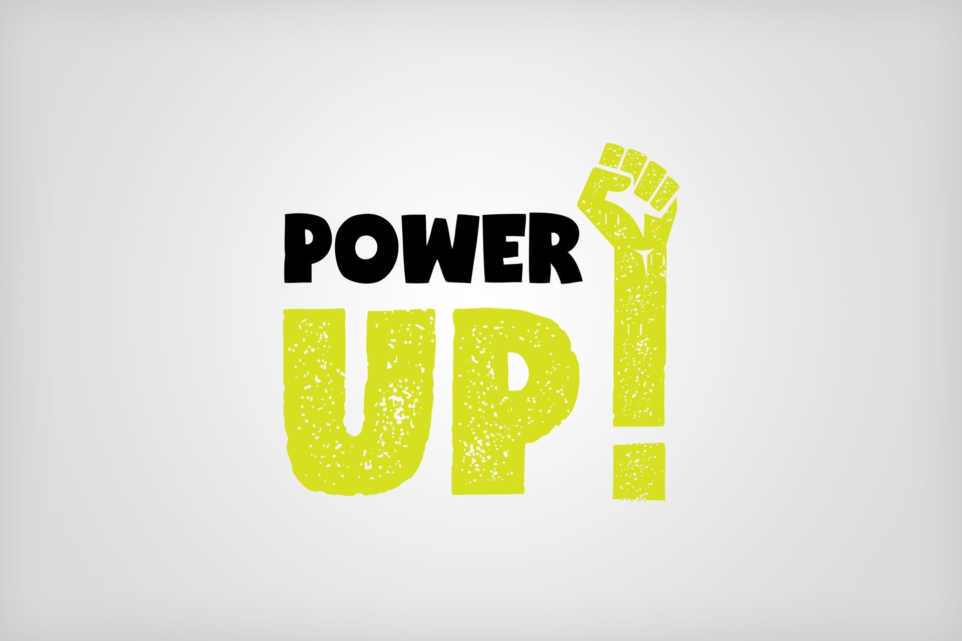 Power Up Logo Design and Branding