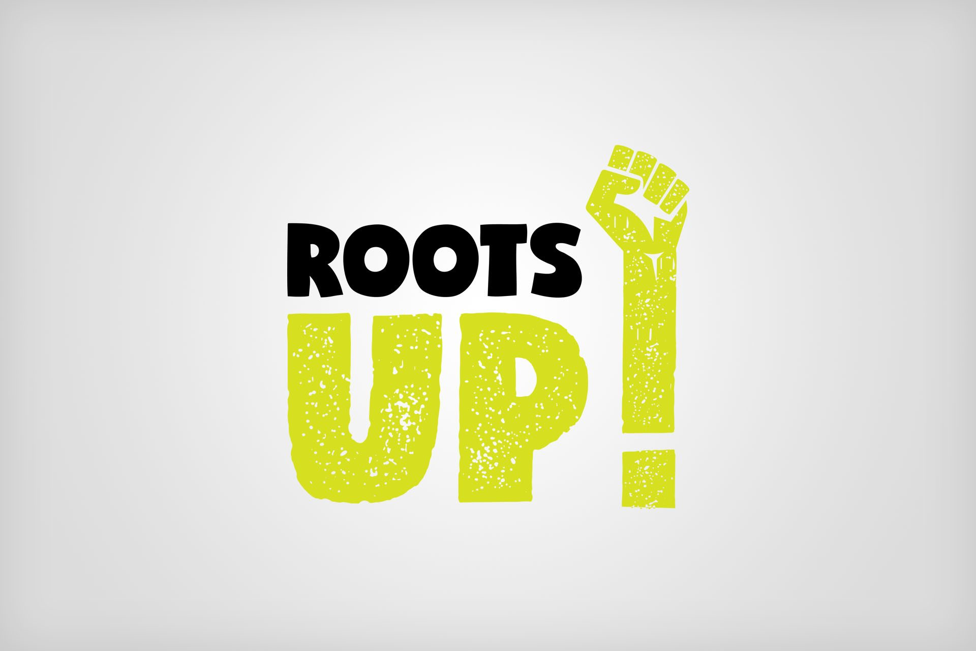 Roots Up Logo Design and Branding