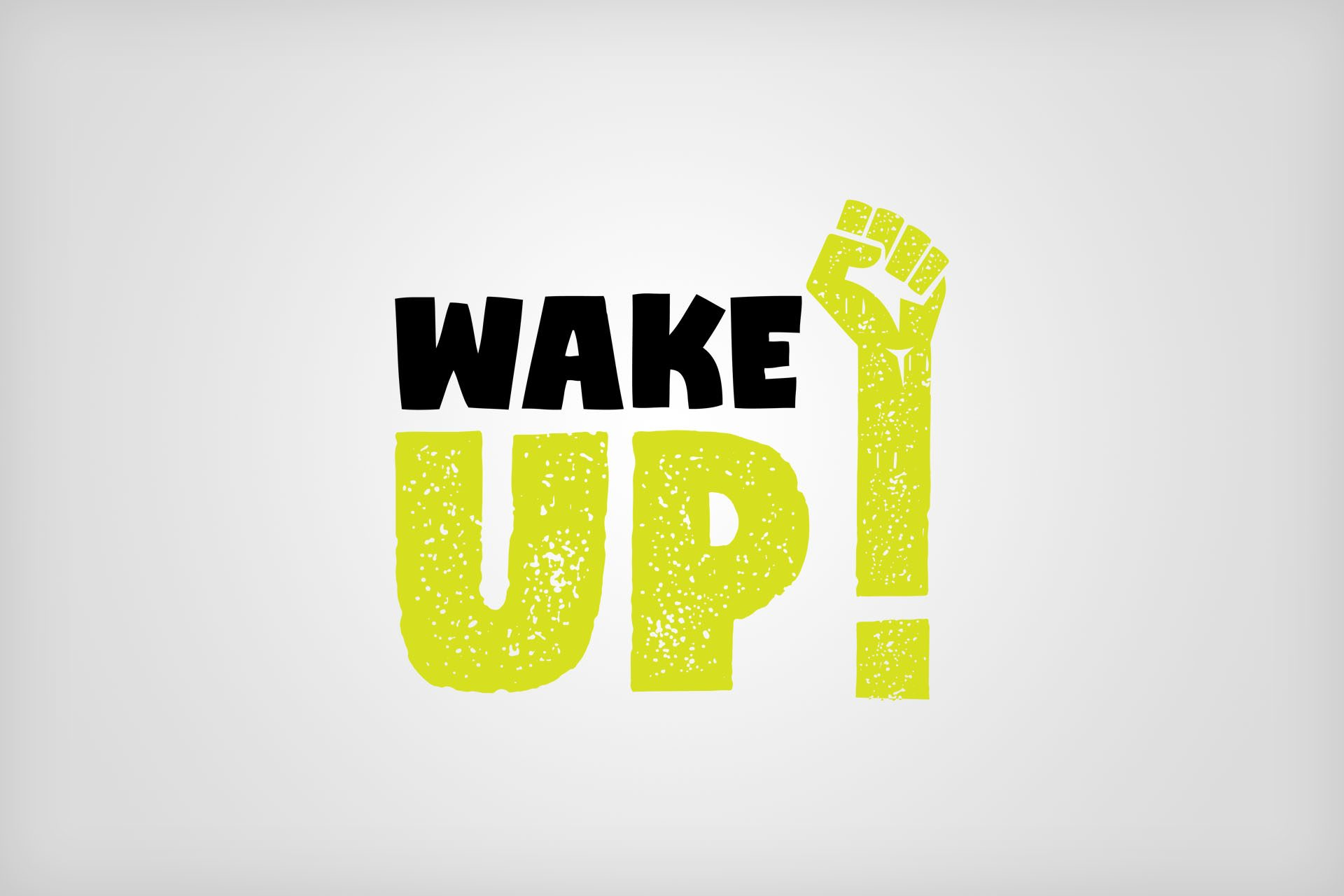 Wake Up Logo Design and Branding